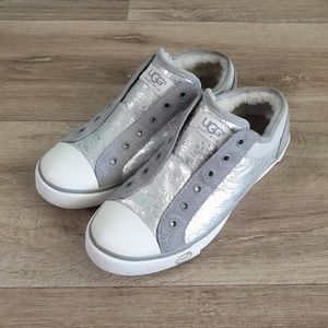 UGG Laela Silver Gray Sneakers size 7